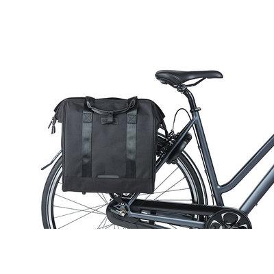 Basil Grand - bicycle shopper - 23 Litres - black