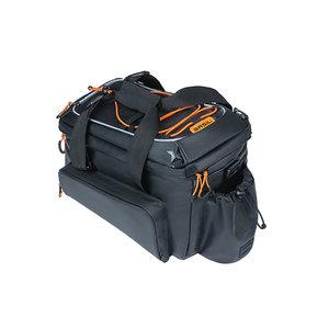 Basil Miles Tarpaulin - bagagedragertas XL Pro MIK - 9-36 liter - zwart
