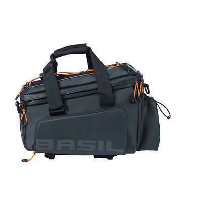 Basil Miles Tarpaulin - Gepäckträgertasche XL Pro MIK - 9-36 Liter - schwarz