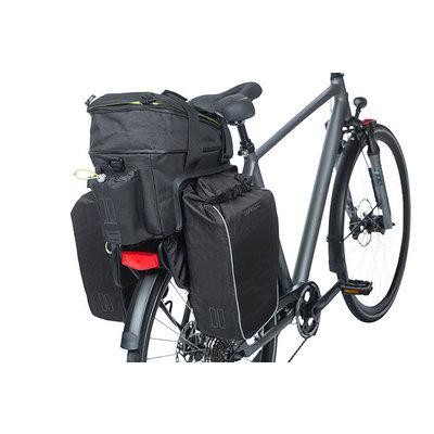 Basil Miles - bagagedragertas XL Pro MIK - 9-36 liter - zwart