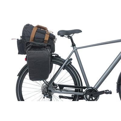 Basil Miles - bagagedragertas XL Pro MIK - 9-36 liter - grijs
