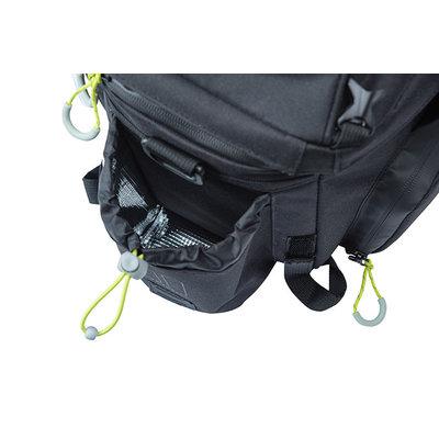 Basil Miles - Gepäckträgertasche XL Pro - 9-36 Liter - schwarz