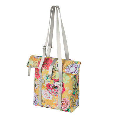 Basil Bloom Field - bicycle shopper - 15-20 litres - yellow
