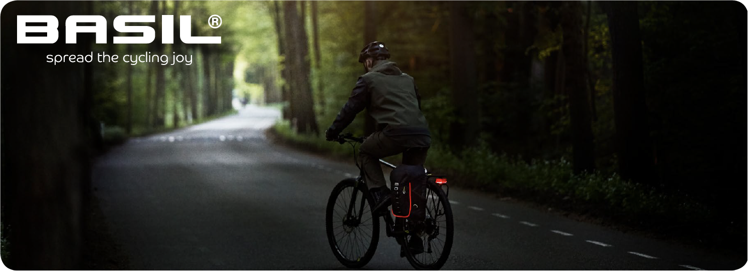 Be visible during a safe bike ride!