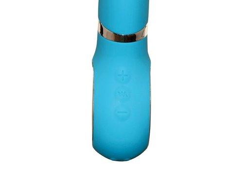 G-Vibe 2 vibrator met 2 uiteinden - blauw