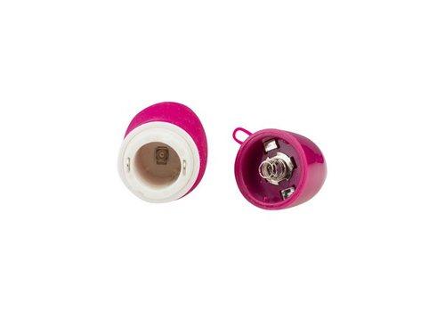 Compacte G-spot vibrator - donker rood