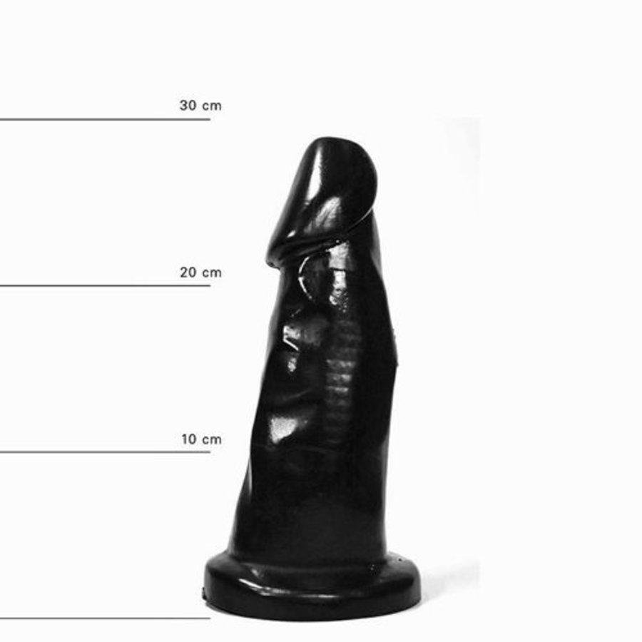 All Black Dildo 29 cm-1