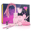 Secret Pleasure Chest BDSM Set - Roze