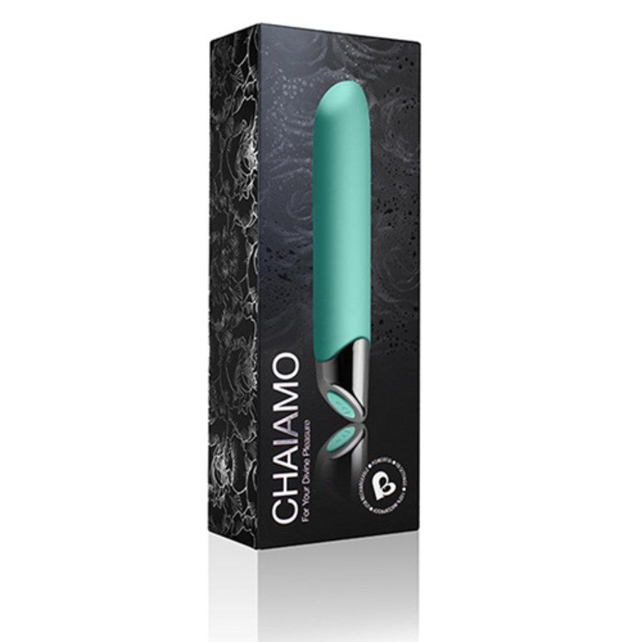 Chaiamo Bullet Vibrator - Teal-3