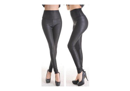 Zwarte Legging met print
