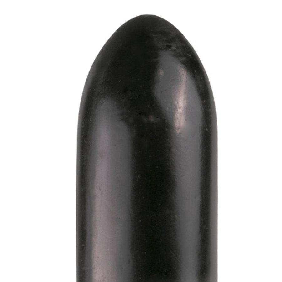 All Black Dildo 22.5 cm - Zwart-2