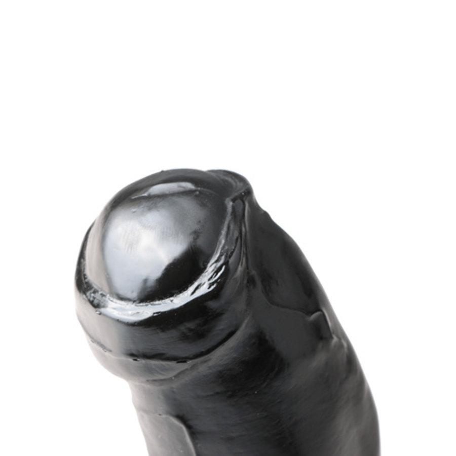 All Black Dildo - 17 cm-2