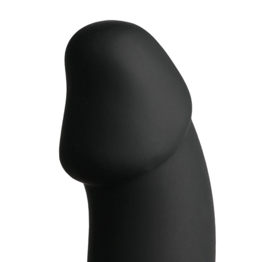 Cockring Met Anaal Dildo - Zwart-2