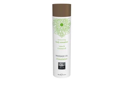 Stimulation Massage Olie - Lotus & Kokos