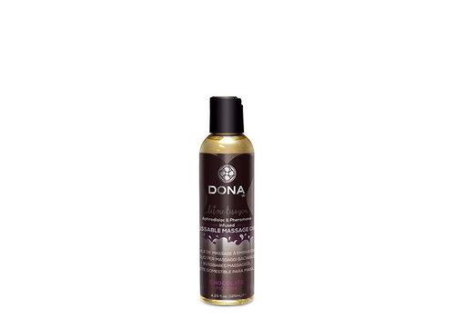 Dona Kissable Massage oil Chocolate