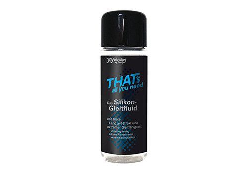 That's All You Need Siliconen Glijmiddel - 100 ml