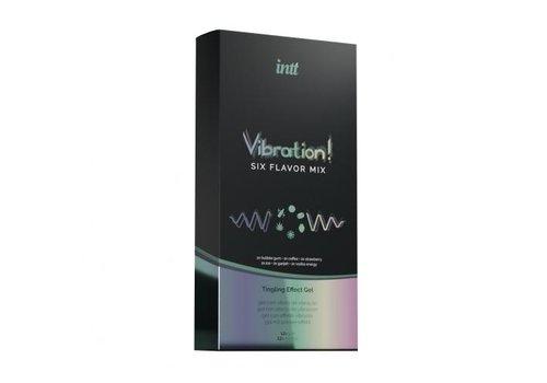 Vibration! Set Met 6 Soorten Tintelende Gel