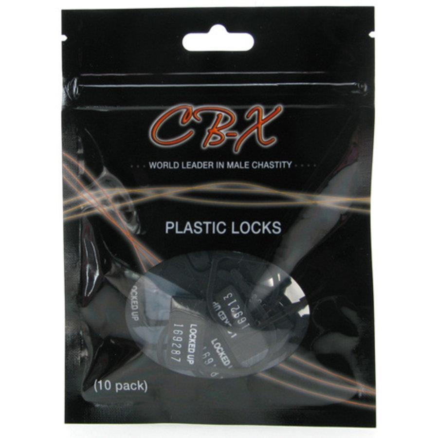 CB-X Plastic Hangslotjes - 10 Stuks-1