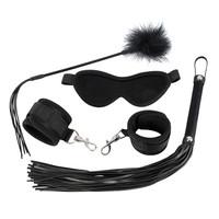 thumb-BDSM 4 delige Set - Black Velvet-1