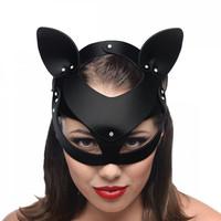 thumb-Bad Kitten - Zwart Leren Masker-4