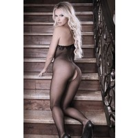 thumb-Before Dawn One-Shoulder Catsuit-3