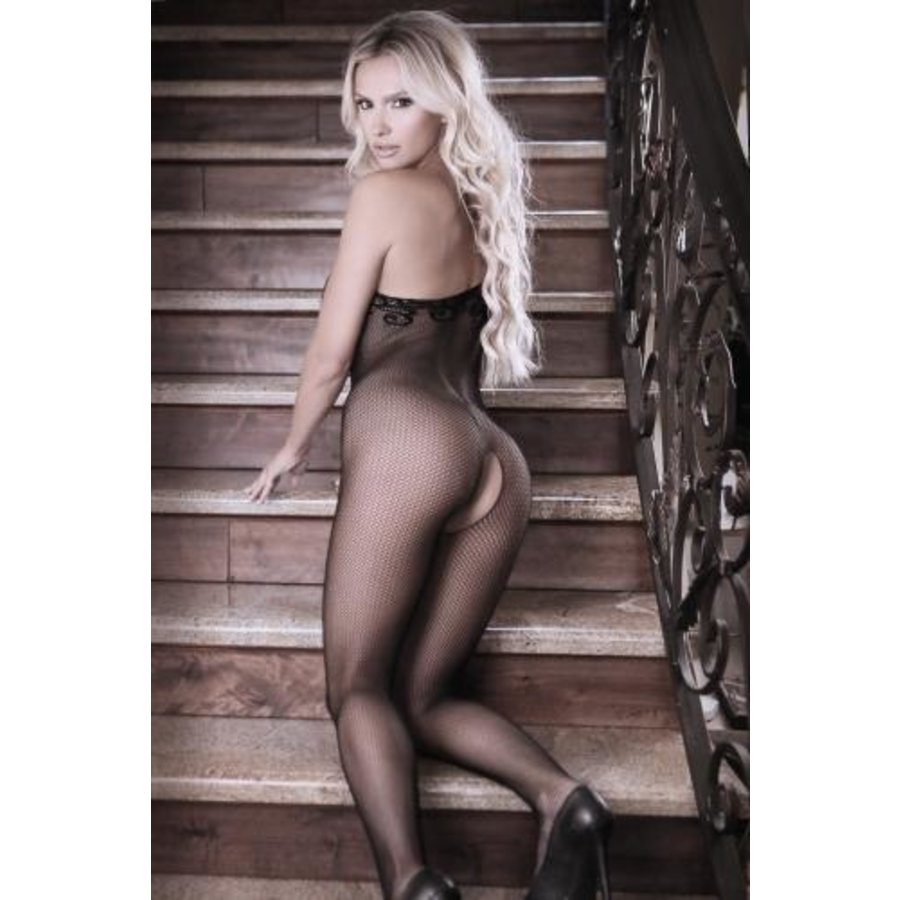 Before Dawn One-Shoulder Catsuit-3