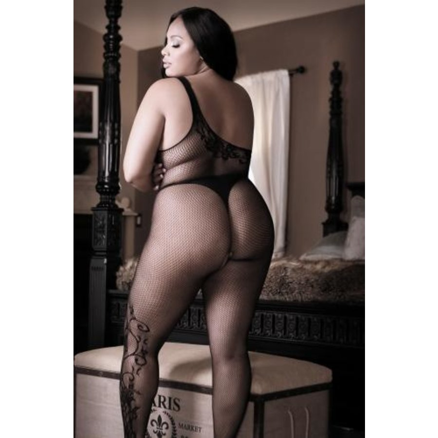 Before Dawn One-Shoulder Catsuit-4