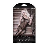 thumb-Before Dawn One-Shoulder Catsuit-5