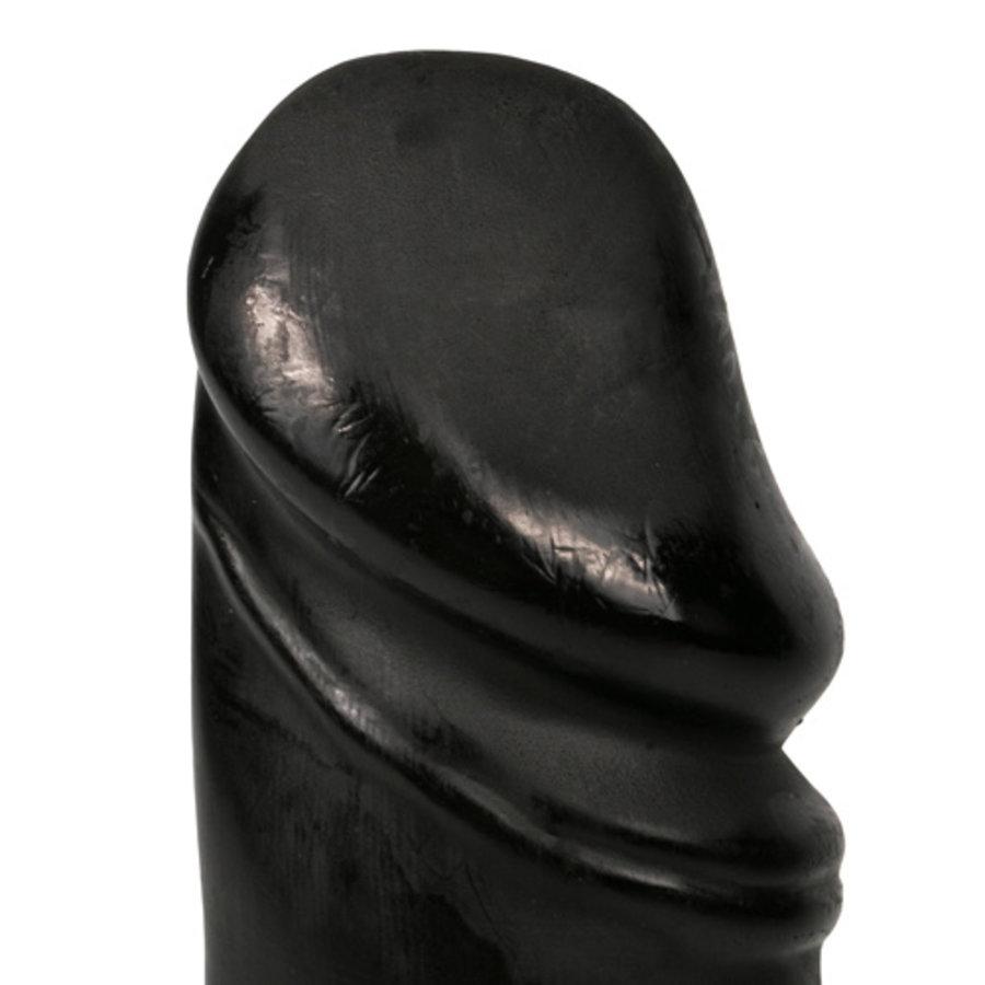 All Black Realistische Dildo - 22 cm-2