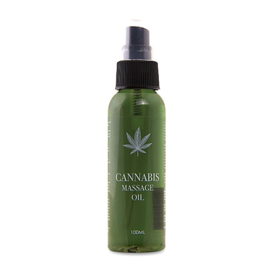 Cannabis Massageolie - 100ml-1