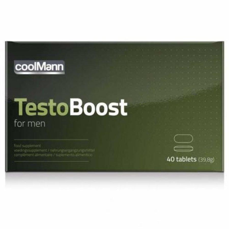 CoolMann Testoboost - 40 stuks-1
