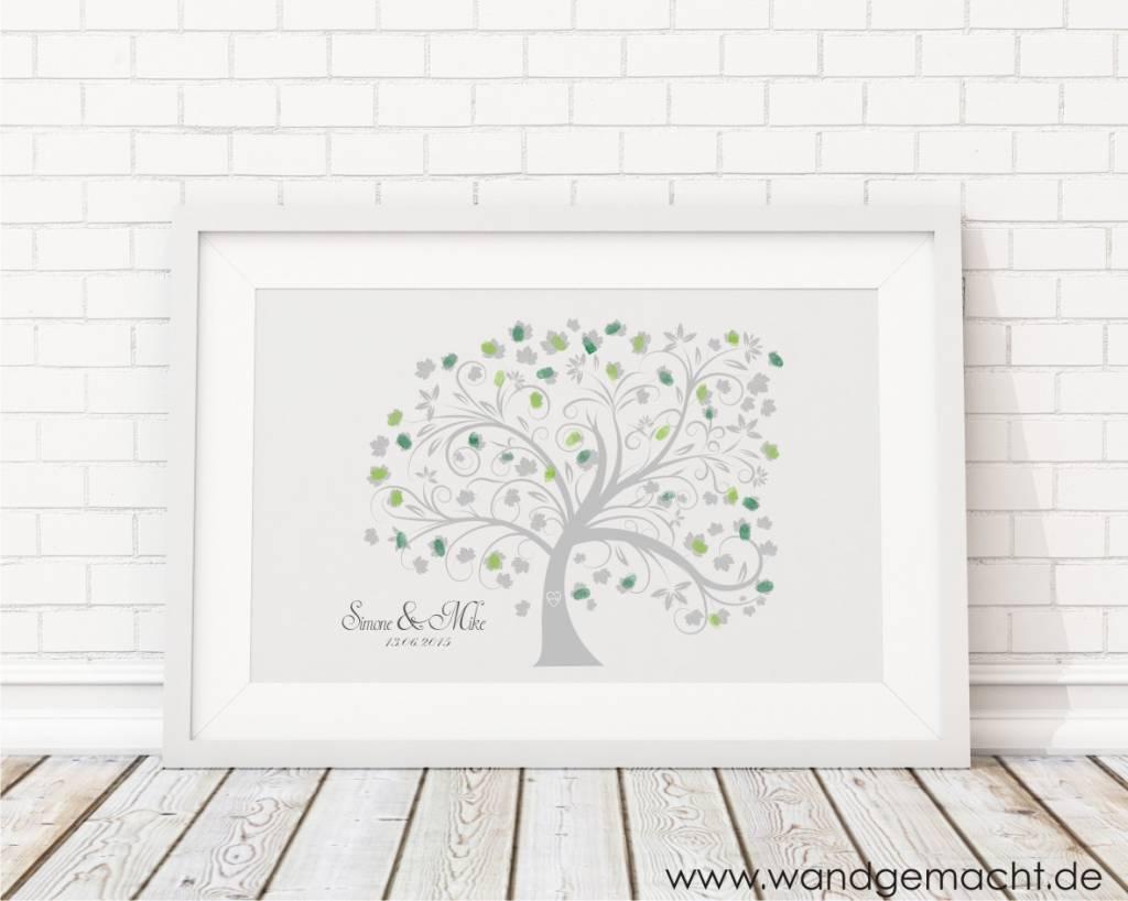 """Premium-Set Hochzeitsbaum """"Baum"""" inkl. Bilderrahmen"""