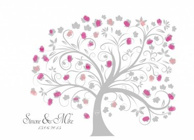 wedding tree als Poster