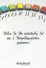 """wedding tree Fingerabdruckbaum """"Pfau"""""""