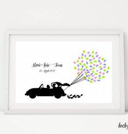 "wedding tree ""Autoballons"""