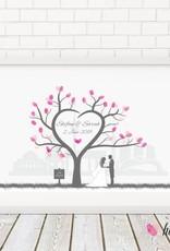 """wedding tree Fingerabdruckbaum """"Baum"""""""