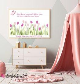 "Taufbild ""Blütenwiese"""