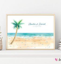 wedding tree // Strandhochzeit  - zum selbst ausdrucken