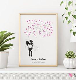 wedding tree // Brautpaar Feuerwerk