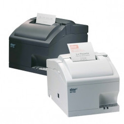 Star Micronics SP742-MD, RS232, cutter, donkergrijs