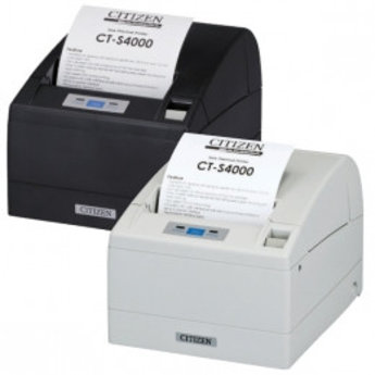 Citizen   CT-S4000/L, USB, LPT, 8 dots/mm (203 dpi), cutter, wit