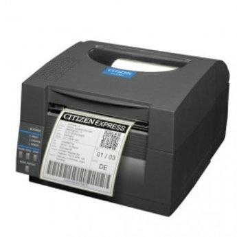 Citizen   CL-S521, 8 dots/mm (203 dpi), ZPL, Datamax, Dual-IF, zwart