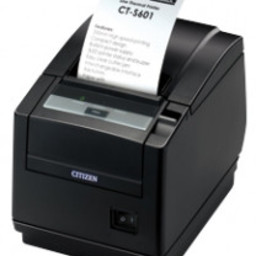 Citizen CT-S601, RS232, 8 dots/mm (203 dpi), cutter, wit