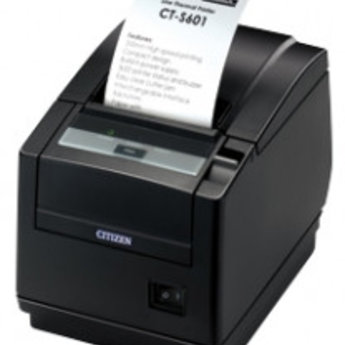 Citizen   CT-S601, USB, 8 dots/mm (203 dpi), cutter, wit