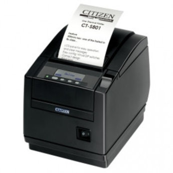 Citizen   CT-S801II, 8 dots/mm (203 dpi), cutter, display, wit