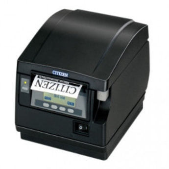 Citizen   CT-S851II, BT, 8 dots/mm (203 dpi), cutter, display, zwart