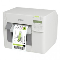 Epson ColorWorks C3500 Label Club Bundle 06, cutter, disp., USB, Ethernet, NiceLabel, white