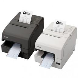 Epson Epson TM-H 6000IV, USB, WLAN, cutter, zwart