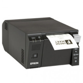 Epson   TM-T70II-DT, USB, RS232, Ethernet, zwart