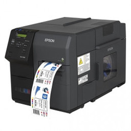 Epson Epson ColorWorks C7500, cutter, disp., USB, Ethernet, zwart